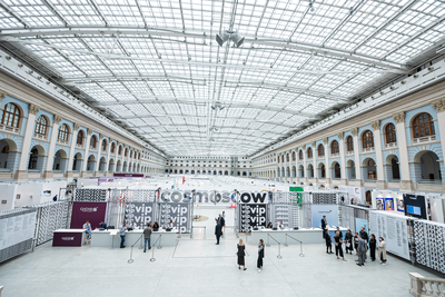 COSMOSCOW 2021 CHANGES DATES: THE FAIR WILL TAKE PLACE ON 18 - 20 SEPTEMBER IN CENTRAL MANEGE, MOSCOW