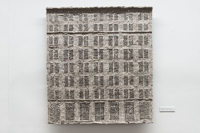 Alexander Brodsky (b. 1955) From the Frontage series, 2014 Unfired clay© VP Studio