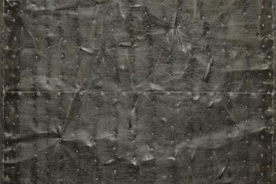 Владимир Трямкин (1952-2017) «Железный объект», 1998 Жесть, ганозис 102 х 72 см © Михаил Агроскин