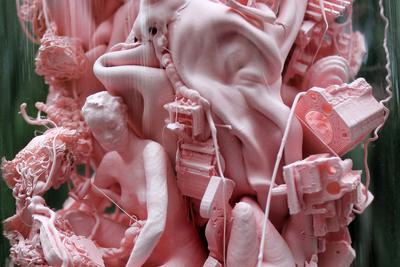 Female Substance  Dmitry Kawarga (b. 1972)  Polymers, 3D printing, plexiglass  50 х 10 cm 2020  © Agency. Art Ru