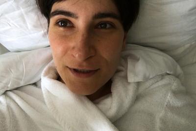 Таус Махачева (род. 1983). Из серии «Заметки с натуры», исследовательская работа в Австрийском центре здоровья, июнь 2017