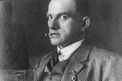 Alexander Rodchenko (1891–1956)  Portrait of Vladimir Mayakovsky, 1924 Vintage photograph 12 х 17 cm © Alexander Rodchenko