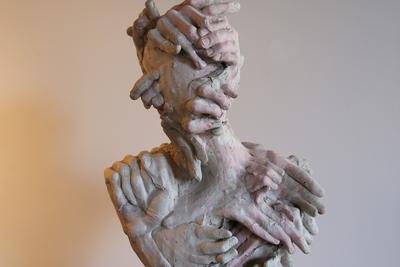 Piotr Diakov (b. 1983) Caesar, 2018 Acrylic resin, pigment 62 х 40 cm © NAMEGALLERY