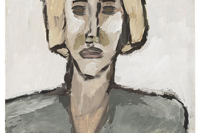 Vladimir Yakovlev (1934–1998) University Student, 1969 Gouache on paper 85,5 х 61 cm © Author / Courtesy of the ART4