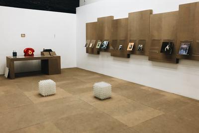 выставка Яна Гинзбурга «СОВПИС», Osnova Gallery