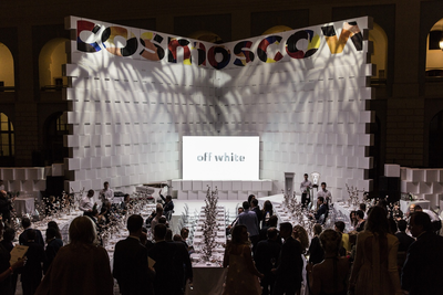 Cosmoscow Fair partners with Phillips to hold the Off white charity auction