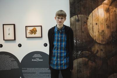 Артем Филатов стал победителем «Премии Credit Suisse и Cosmoscow для молодых художников»